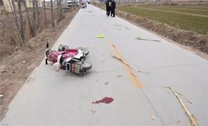 博兴一女子报警称骑电动车被一辆顺行的货车撞倒,结果令人大跌眼镜!