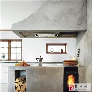 别墅原生态工业风水泥墙装修风格看治沙灵砂浆修复液是怎么做的?