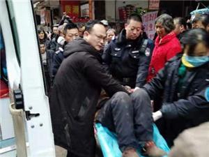 惊魂一幕!台湾快三app下载官方网址22270.COM顺70岁老人不慎从6楼坠下,上演生死时速!