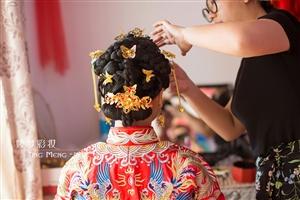 福州新娘跟妆造型工作室婷梦彩妆新娘化妆跟妆婚纱出租龙凤褂秀禾服出租