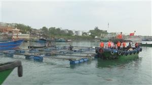 洋浦:坚决拆除违建渔排;进一步改善生态环境