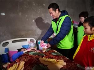 学雷锋日,富顺义工联合会携手富顺二中师生关爱残疾人