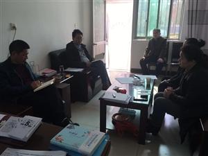 合阳县教育局、县政府教育督导组赴孟庄九年制学校督查开学工作
