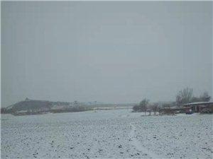 辽宁建平下雪啦!辽西干旱去年一个冬天都没有下雪