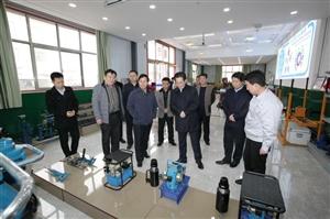 渭南市副市长杨武民来合阳县经开区调研