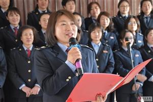 """""""三.八""""税务巾帼绽新花"""