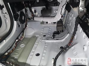 静的出奇 宝马X3汽车隔音改装俄罗斯StP―太原朗声作品