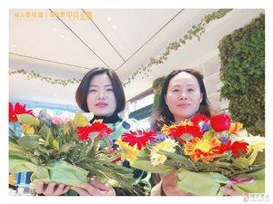 砀山碧桂园中央公园的插花活动好美