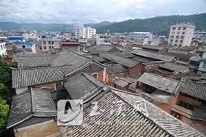 金寨河西村