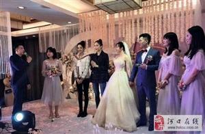 娜扎参加闺蜜婚礼,与伴娘同框差距大,网友:明星颜值真的高