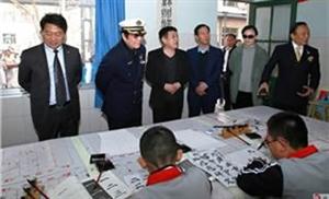 美国华裔市长黄锦波一行人来访博兴乐安教育集团