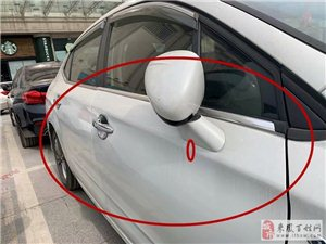 看车的占师傅提醒大家:车价看起来诱惑,其实就是事故车