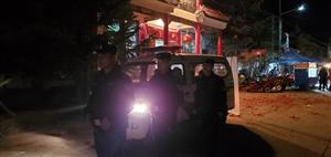 合阳县公安局黑池派出所圆满完成辖区 庙会安保执勤活动