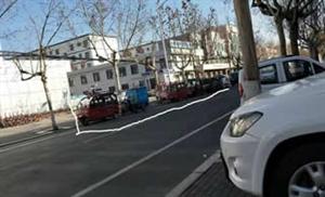 大街上溜达一圈~发现博兴大马路上的车停的着实很任性!