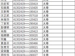 2019公租房轮后家庭名单公示表出炉,?#24515;?#35748;识的吗?内含举报电话