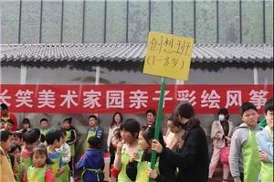"""胜利园林主题庄园2019年""""第一届长笑美术家园风筝节"""",现场火爆……"""