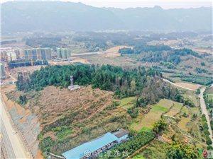 航拍湄潭,也许这些土地未来都将会被开发