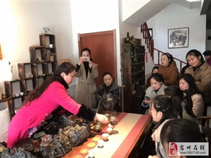 """汴河街道举办""""学习茶艺知识 弘扬传统文化""""茶艺交流活动"""