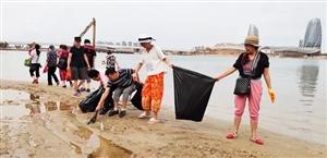 """垃圾""""过载""""侵袭大海,白马井海岸带何时能恢复如初?"""