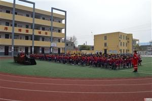 五防教育进校园        筑牢儿童防护堡垒