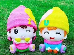 玩转DIY,搪胶娃娃储钱罐 | 潢川・红玺台周末邀您一起嗨!