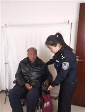 金水派出所户籍民警 热心帮助残疾人办理身份证