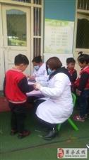 黄口镇中心卫生院开展儿童免费体检活动