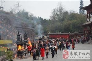 金沙国际娱乐官网仙佛寺二月庙会安全有序