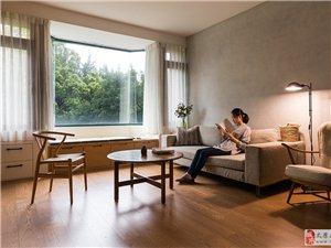 太原海唐广场81�O满溢温暖简约木质系风格装修设计
