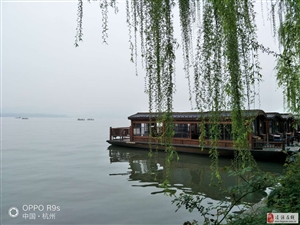 捷安特�_�承序T友今日到�_杭州,流�B在美��的西子湖畔
