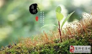 清明节:愿逝者安息,愿生者珍惜!