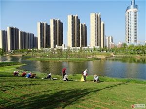 丹阳公园新气象