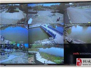 桐城西郊公园安装智能警戒安防系统!