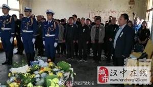 高继垲烈士追悼大会正在举行 5000余人现场送别烈士