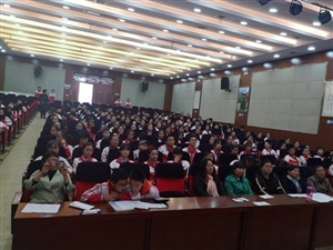 合阳县城关中学举行七年级主题学习演讲赛