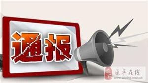 市民政局、消防支队、驿城区、金沙平台网址…被通报批评!这仨部门受表扬!