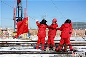 大港油田采油一厂作业三区青年突击队助推油气生产