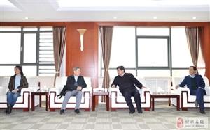 市委常委、统战部部长李家良陪同俄罗斯侨商来博兴对接双招双引项目