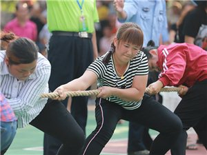 2019年会山三月三女子拔河比赛