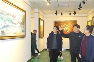 渭南市教育局局长党福奎检查合阳县教育提升五大工程及研学工作