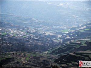 劳动人民真伟大,渠子梁上的梯田地膜覆盖光景乍现媲美哈尼梯田