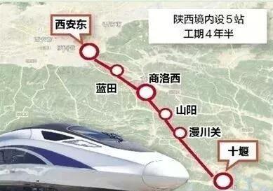 途径蓝田的旅游宝藏高铁线路今年计划开工啦!赶紧收藏!