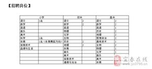 南昌恒大豫章师院附属学校春季教师招聘公告