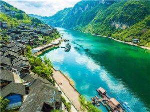今生一定要去酉阳龚滩古镇,一个净化心灵的纯净之境!