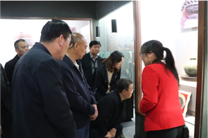 云南省玉溪市人大常委会一行调研张家川县博物馆