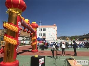 张家川在线受县职中邀请将直播航拍该校活动