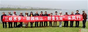 枝江金湖国家湿地公园文学艺术采风活动圆满结束