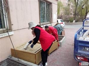 长城区大众社区开展环境卫生整治活动