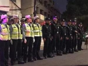 荆门公安再次调集数百警力!36人当场被抓,12人被刑事拘留…