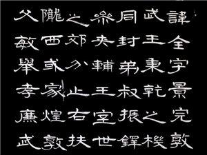 朱培立书法作品临帖两幅